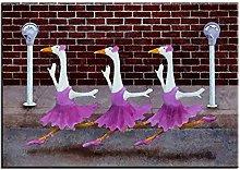 Xufan Ballet Parking Printing Oil Painting Wall