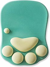 XUFAN Cat Claw Mouse Pad With Wrist Rest, Soft