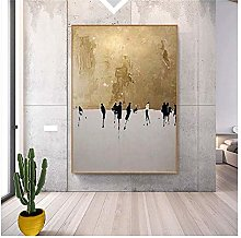 Xufan Character Oil Painting Wall Art Pictures