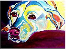 Xufan Dog Oil Painting Wall Painting Home