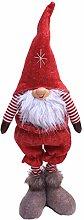 XuHang Handmade Christmas Ornaments Gnome Tomte