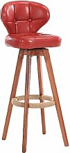 XUHRA Hotel Front Desk Stool, Home Bar Stools With