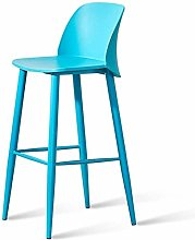 XUHRA Modern Minimalist Bar Chair Front Desk Chair