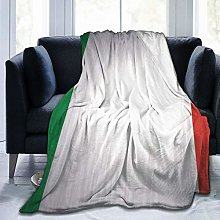 Xukmefat Italy Flag Soft and Warm Sofa Bed Throws