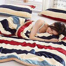 XUMINGLSJ Velour Bed Throw Blankets - Super Soft