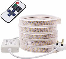 XUNATA 1m Dimmable LED Strip with Remote Control,