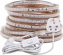 XUNATA 25m LED Strip Light with Switch (3m Plug
