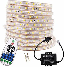 XUNATA 25m Waterproof 220V LED Strip Lights Kit,