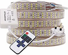 XUNATA 3m Dimmable LED Strip with Remote Control,