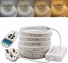 XUNATA 3m Double Colors LED Strip with Remote,