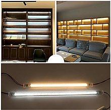 XUNATA 40cm Hard Wired LED Strip Light, 72 LEDs