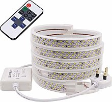 XUNATA 6m Dimmable LED Strip with Remote Control,