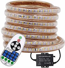 XUNATA Dimmable 3014 LED Strip Remote Kit, 120