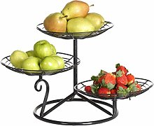 XUNMAIFLB 3 Tier Metal Fruit Basket, Fruit Basket,