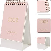 XUSHI Desk Calendar 2022 1Pc Desk Calendar for