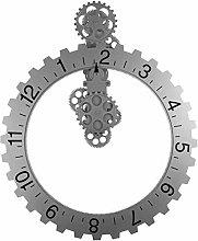XUXUWA Alarm Clock Wall Clock Atmosphere European