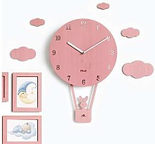 XUXUWA Alarm Clock Wall clock No Clicking Modern
