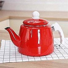 XUXUWA Teapot, Tea Pots Tea Sets Enameled Kettle