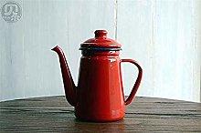 XUXUWA Teapot, Tea Sets Tea Pots Enameled Kettle