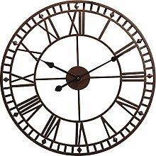 XUYI Outdoor Garden Wall Clock Large Weatherproof