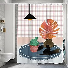 XUYSD Shower curtainCurtain for Bathroom Decor