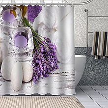 XUYSD Shower curtainCustom Beautiful purple