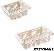 XWJRPA Storage Box,Kitchen Adjustable Stretchable