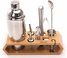 XWOZYDR 10pcs Stainless Steel Cocktail Shaker Set