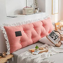 XWSM Headboard Cushion Triangular Lumbar Pillow