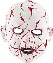 XWYZY Halloween mask Halloween Zombie Baby Face