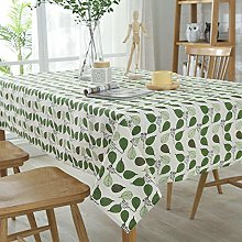 XXBFDT Tablecloth Dust-Proof Waterproof for Dining