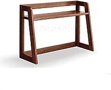 XXFFD All Solid Wood Small Bookshelf Modern