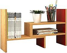 XXFFD Bookshelf Desk Creative Study Bookcase Tree