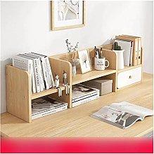 XXFFD Desk Bookshelf Simple Student Multi-Layer