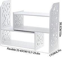 XXFFD Desktop Bookshelf Simple Desk Combination