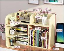 XXFFD Multipurpose Household Bookcase Desk