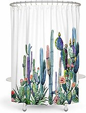 Xxxx Dtjscl Shower curtain African with plants 180