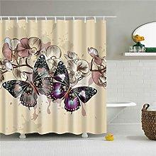 Xxxx Dtjscl Shower curtain Animal butterfly