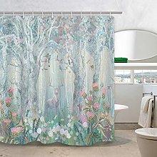 Xxxx Dtjscl Shower curtain Fabric curtains for