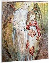 Xxxx Dtjscl Shower curtain Inspiring angel arm
