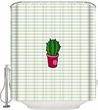 Xxxx Dtjscl Shower curtain Succulent decorative