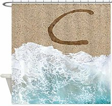 Xxxx Dtjscl Shower curtain Unique alphabet sand