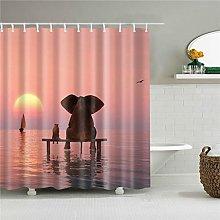 Xxxx Dtjscl Shower curtain Waterproof shower