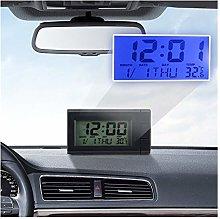 XYBW Car LCD Digital Clock Temperature Display
