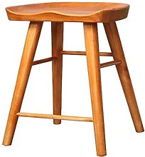 XYCSM Bar Stool Niture Wooden Ergonomic Barstool
