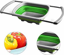 XYDZ Collapsible Colander, Kitchen Foldable
