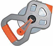 XYHCS Tape measure - 50 m, fiber tape measure,