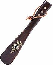 XYJNN Long Shoe Horns For Men Wooden Shoehorn Is