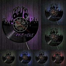 XYLLYT DJ Speaker Wall Clock DJ Your Name