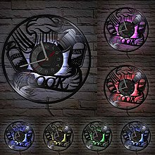 XYLLYT Kitchen themed wall clock made by real